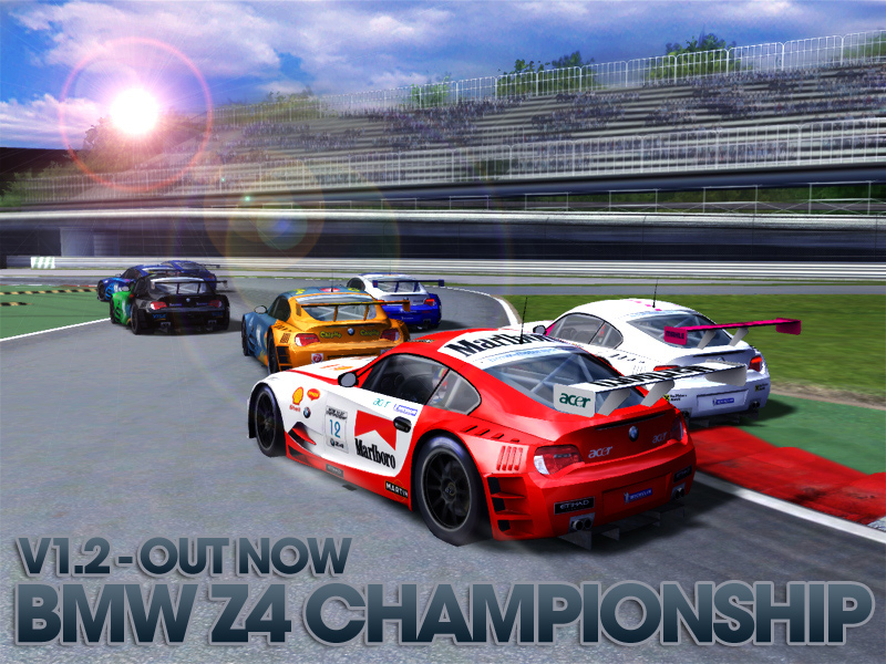 GTA 4 IV PC BMW Z4 MOD CRASH TESTING (HD 720p) BMW Z4 GT Championship 1.2.